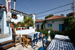 Greece, Lesbos, Petra Royalty Free Stock Image