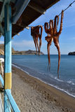 Greece, Lesbos, Skala Eresou Stock Photos