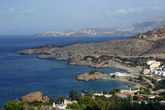 greece liggande Royaltyfria Bilder