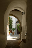 greece liten gata Royaltyfri Bild