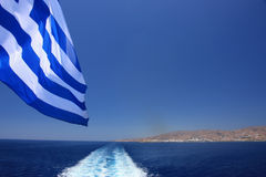 greece lopp Arkivbild