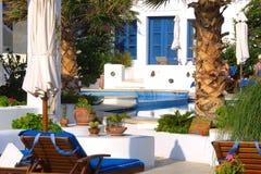 greece lycklig ferie Arkivfoto