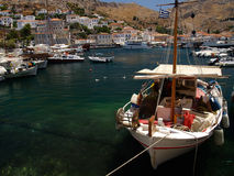 Greece. Made on Hydra Island, Greece Royalty Free Stock Images
