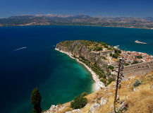 Greece. Made on Nafplion, Peloponessos Isle, Greece Stock Photos