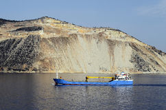 Greece, marble industry. Greece, marble mining on Pilion peninsula stock image