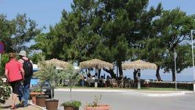 Greece MAY 2014 : Thasos Island stock footage