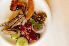 Greece meat food Stock Photos