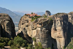 Greece Meteor monastery Stock Photography