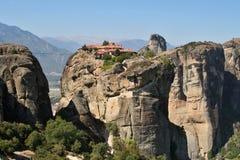 Greece Meteor monastery Stock Photography