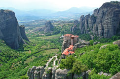 Greece. Meteora Fotografia de Stock Royalty Free
