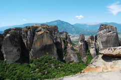 greece meteora Obraz Royalty Free