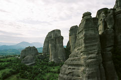 greece meteora Royaltyfri Bild