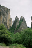Greece, the Meteora. Royalty Free Stock Images