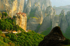 greece meteora Arkivfoton