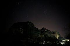 greece meteora Royaltyfria Foton