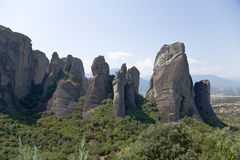 Greece. Meteora Royalty Free Stock Images