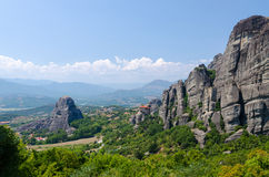 Greece, Meteora Royalty Free Stock Photos