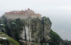 Greece. Meteora. Holy Agios Stephanos monastery Stock Image