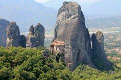 Greece Meteora Monasteries Stock Images
