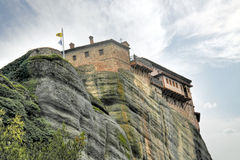 Greece. Meteora. Monastery on a rock Royalty Free Stock Photo