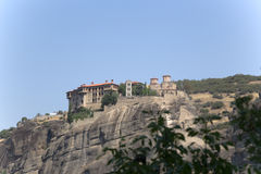 Greece. Meteora. Monastery Varlaam Royalty Free Stock Images