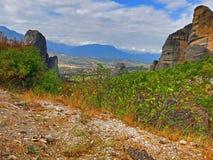 Greece Meteora Stock Image