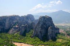 Greece, Meteors Royalty Free Stock Photo