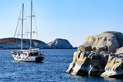 The island of Milos stock photography