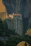 Greece, the monastery. Greece, the monastery in the holy Meteora Stock Photo