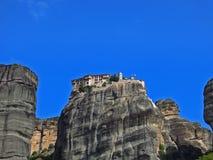 Greece monastery Royalty Free Stock Photo