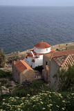 Greece, Monemvasia, church Stock Images