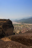 Greece, the mountains of Thessaly. Royalty Free Stock Image