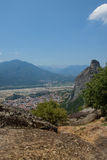 Greece, the mountains of Thessaly. Stock Photos