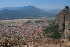 Greece, the mountains of Thessaly. Stock Images