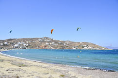 greece mykonos Royaltyfri Fotografi