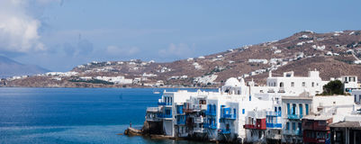 greece mykonos Arkivfoto