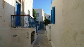 Greece Mykonos narrow streets Royalty Free Stock Photography