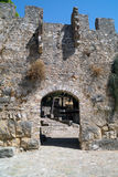 Greece Nafpaktos castle main entrance, Greece Royalty Free Stock Images