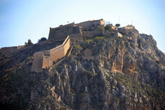 Greece,Nafplio castle. Royalty Free Stock Photos