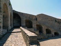 Greece, Nafplion, powerful fortress bastions stock photos