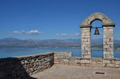 Greece,Nafplion-view from the fortress Palamidi Stock Photos