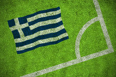 Greece national flag Stock Image