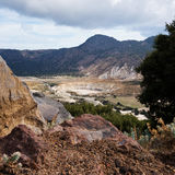 Greece. Nisyros. Stefanos crater Royalty Free Stock Images