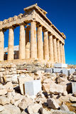 In greece the old Royalty Free Stock Images