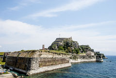 Greece. Old fortress to Corfu Stock Image