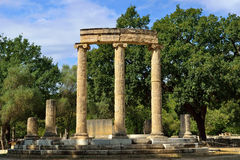 Greece Olympia origin of the Olympic games Stock Image