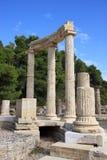 greece olympiaphilippeion royaltyfria foton