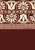 Greek ornament template Royalty Free Stock Images