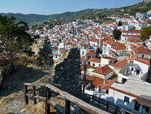 Greece- outlook on Skopelos Royalty Free Stock Photo