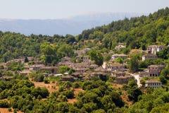 greece papigo wioska Zdjęcia Stock